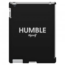 humble thyself iPad 3 and 4 Case | Artistshot