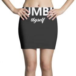 humble thyself Mini Skirts | Artistshot