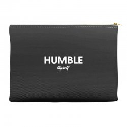 humble thyself Accessory Pouches | Artistshot