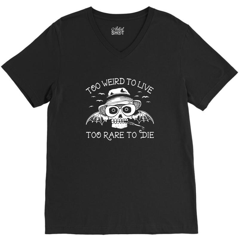 Hunter S Thompson T Shirt Fear And Loathing In Las Vegas T Shirt Too W V-neck Tee | Artistshot