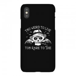 hunter s thompson t shirt fear and loathing in las vegas t shirt too w iPhoneX Case | Artistshot