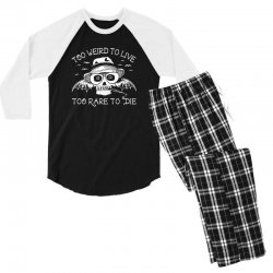 hunter s thompson t shirt fear and loathing in las vegas t shirt too w Men's 3/4 Sleeve Pajama Set | Artistshot