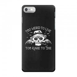 hunter s thompson t shirt fear and loathing in las vegas t shirt too w iPhone 7 Case | Artistshot
