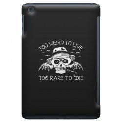 hunter s thompson t shirt fear and loathing in las vegas t shirt too w iPad Mini Case | Artistshot