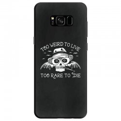 hunter s thompson t shirt fear and loathing in las vegas t shirt too w Samsung Galaxy S8 Case | Artistshot