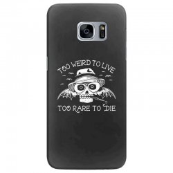 hunter s thompson t shirt fear and loathing in las vegas t shirt too w Samsung Galaxy S7 Edge Case | Artistshot