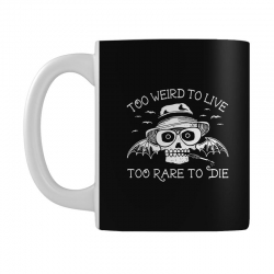 hunter s thompson t shirt fear and loathing in las vegas t shirt too w Mug | Artistshot