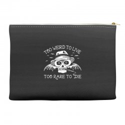 hunter s thompson t shirt fear and loathing in las vegas t shirt too w Accessory Pouches | Artistshot