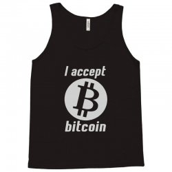 i accept bitcoin online game money crypto currency funny Tank Top | Artistshot