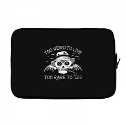 hunter s thompson t shirt fear and loathing in las vegas t shirt too w Laptop sleeve | Artistshot