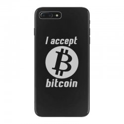 i accept bitcoin online game money crypto currency funny iPhone 7 Plus Case | Artistshot