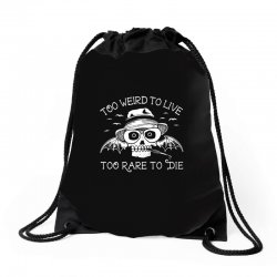 hunter s thompson t shirt fear and loathing in las vegas t shirt too w Drawstring Bags | Artistshot
