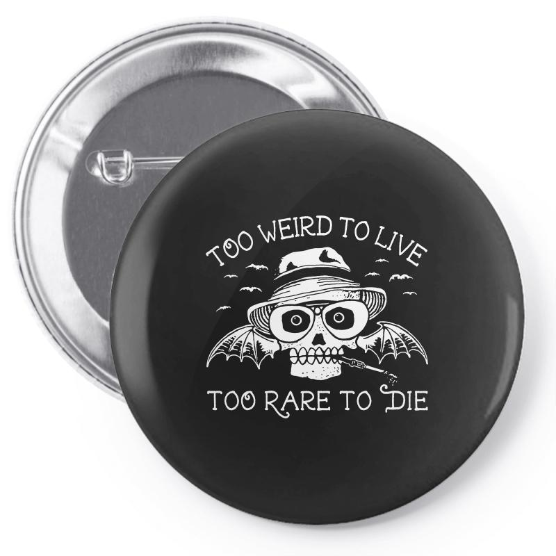 Hunter S Thompson T Shirt Fear And Loathing In Las Vegas T Shirt Too W Pin-back Button | Artistshot