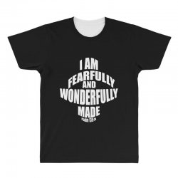 i am fearfully and wonderfully made christian All Over Men's T-shirt | Artistshot