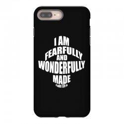 i am fearfully and wonderfully made christian iPhone 8 Plus Case | Artistshot