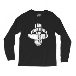 i am fearfully and wonderfully made christian Long Sleeve Shirts | Artistshot