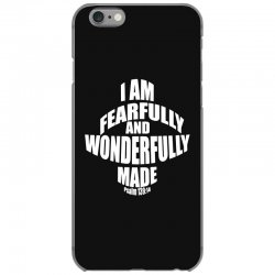 i am fearfully and wonderfully made christian iPhone 6/6s Case | Artistshot