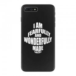 i am fearfully and wonderfully made christian iPhone 7 Plus Case | Artistshot