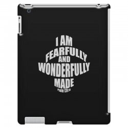 i am fearfully and wonderfully made christian iPad 3 and 4 Case | Artistshot