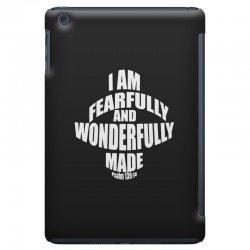 i am fearfully and wonderfully made christian iPad Mini Case | Artistshot