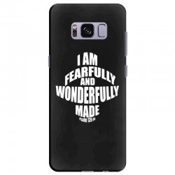 i am fearfully and wonderfully made christian Samsung Galaxy S8 Plus Case | Artistshot