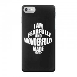 i am fearfully and wonderfully made christian iPhone 7 Case | Artistshot