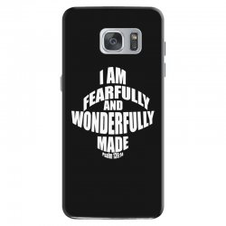 i am fearfully and wonderfully made christian Samsung Galaxy S7 Case | Artistshot