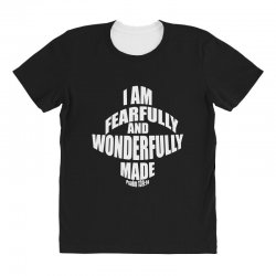 i am fearfully and wonderfully made christian All Over Women's T-shirt | Artistshot