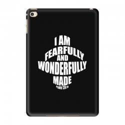i am fearfully and wonderfully made christian iPad Mini 4 Case | Artistshot