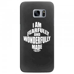 i am fearfully and wonderfully made christian Samsung Galaxy S7 Edge Case | Artistshot