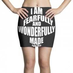 i am fearfully and wonderfully made christian Mini Skirts | Artistshot