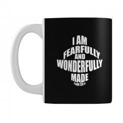 i am fearfully and wonderfully made christian Mug | Artistshot