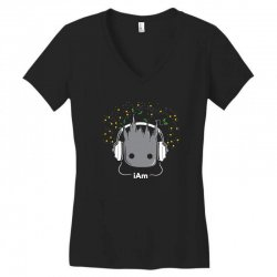 i am groot cute baby groot Women's V-Neck T-Shirt | Artistshot