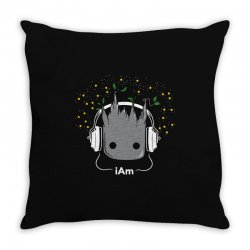 i am groot cute baby groot Throw Pillow | Artistshot
