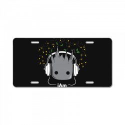 i am groot cute baby groot License Plate | Artistshot