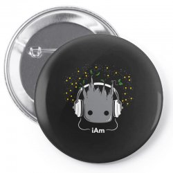 i am groot cute baby groot Pin-back button | Artistshot