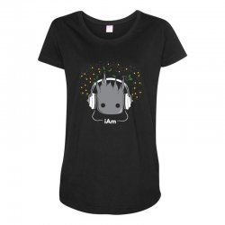 i am groot cute baby groot Maternity Scoop Neck T-shirt | Artistshot