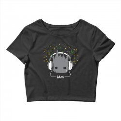 i am groot cute baby groot Crop Top | Artistshot