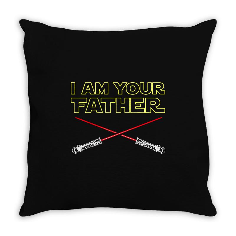 I Am Your Father Throw Pillow | Artistshot