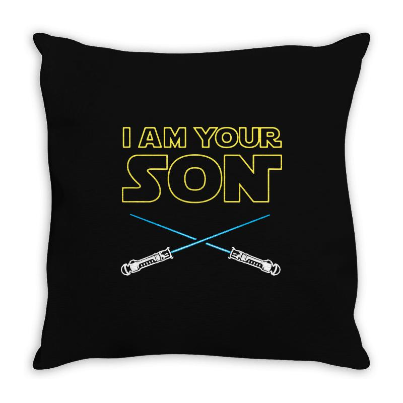 I Am Your Son Throw Pillow | Artistshot