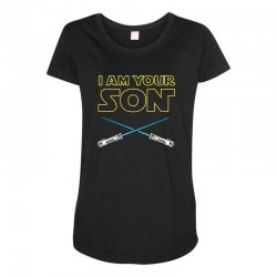 i am your son Maternity Scoop Neck T-shirt | Artistshot