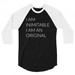 i am 3/4 Sleeve Shirt | Artistshot