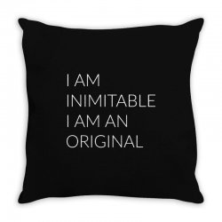 i am Throw Pillow | Artistshot