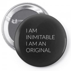 i am Pin-back button | Artistshot