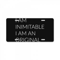 i am License Plate | Artistshot