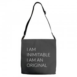 i am Adjustable Strap Totes | Artistshot