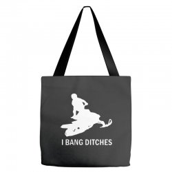 i bang ditches snowmobile Tote Bags | Artistshot