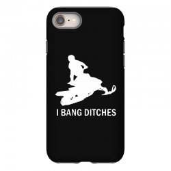 i bang ditches snowmobile iPhone 8 Case | Artistshot
