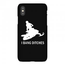 i bang ditches snowmobile iPhoneX Case | Artistshot