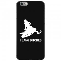 i bang ditches snowmobile iPhone 6/6s Case | Artistshot